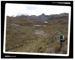 Wanderung in den Anden: Familienreise Ecuador