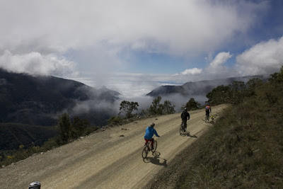 Bergnebelwald, Peru, Mountainbike, Fahrrad