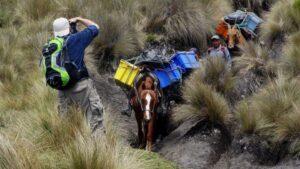 Ecuador Trekking Ausrüstung
