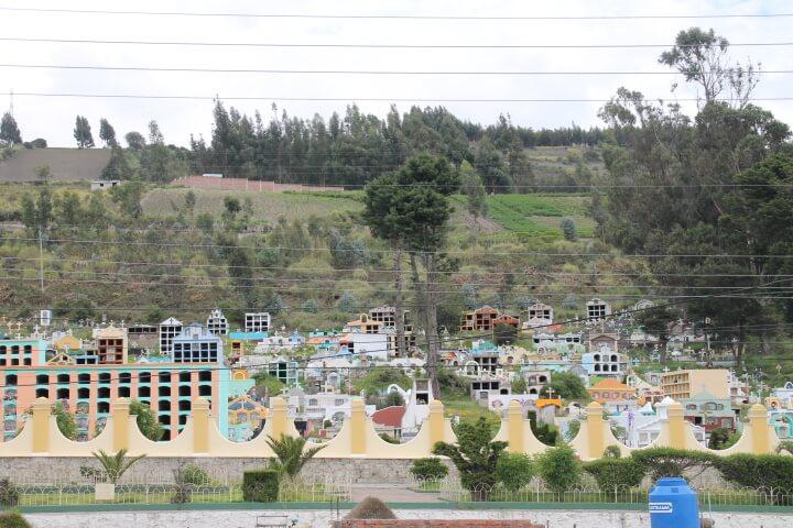 Aussicht von Quito nach Guamote