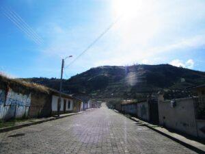 Hauptstraße El Angel Ecuador
