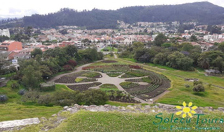 Inka Ruinen nahe Cuenca