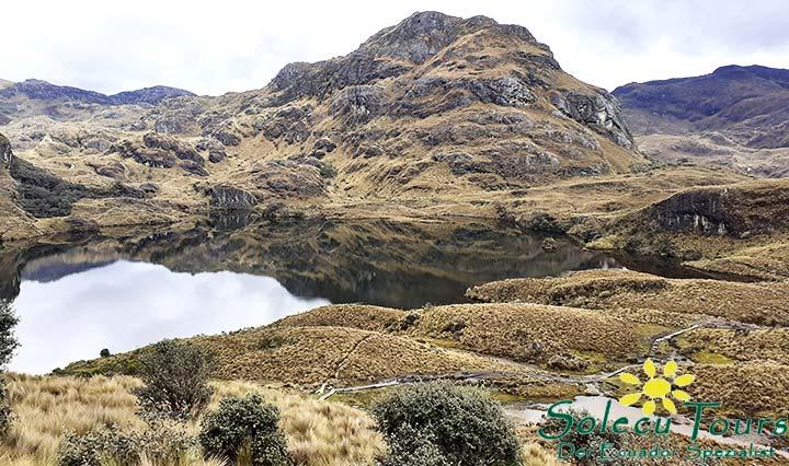 Cajas National Park mit Lagune