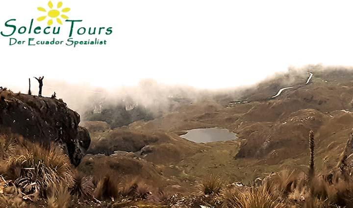 Natur im Las Cajas National Park