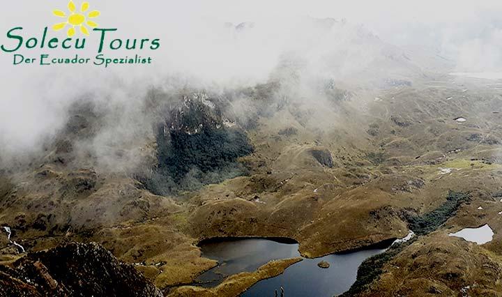 Las Cajas Nationalpark bei Cuenca