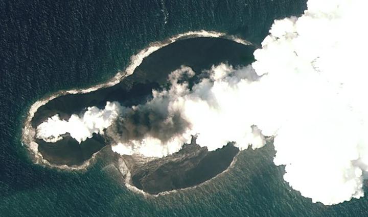 Vulkanausbruch auf Galapagos