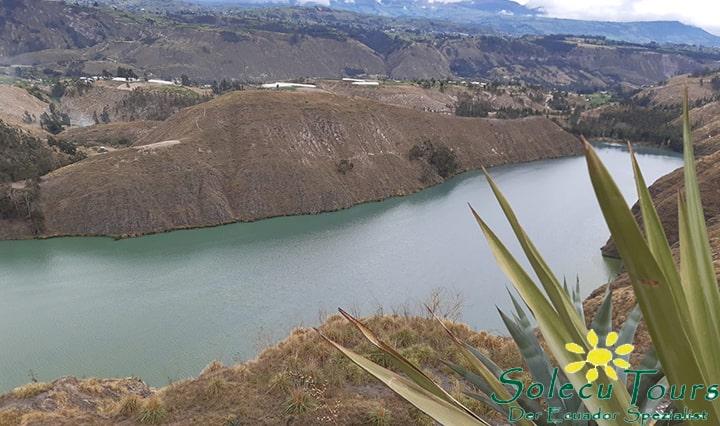 La Laguna de Yambo eignet sich als Ziel für einen Ausflug von Quito.