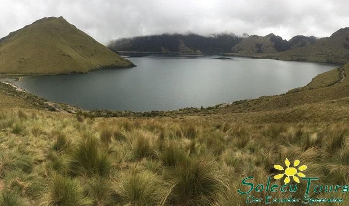 Lagune in Ecuador