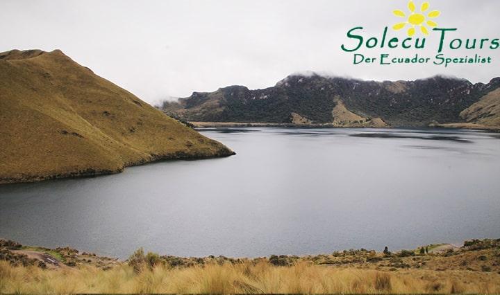 Lagunen von Mojanda