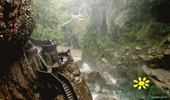 Wasserfall El Pailon del Diablo