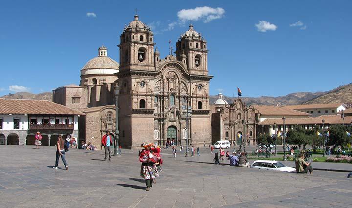 Cuzco Peru Kirche