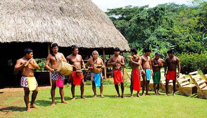 Panama Reisen Embera