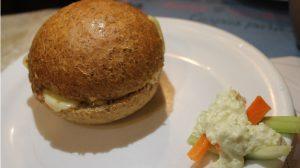Veggie-Burger haben auch Südamerika erreicht.