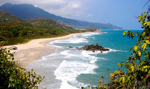 Karibikküste Tayrona Kolumbien