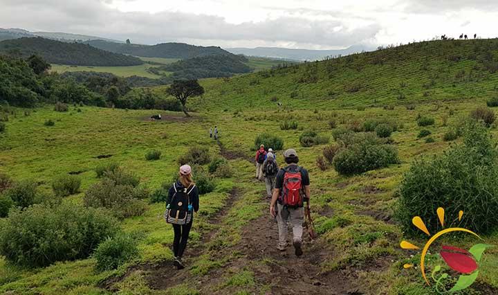 Wanderung durch das Naturreservat Santa Rita