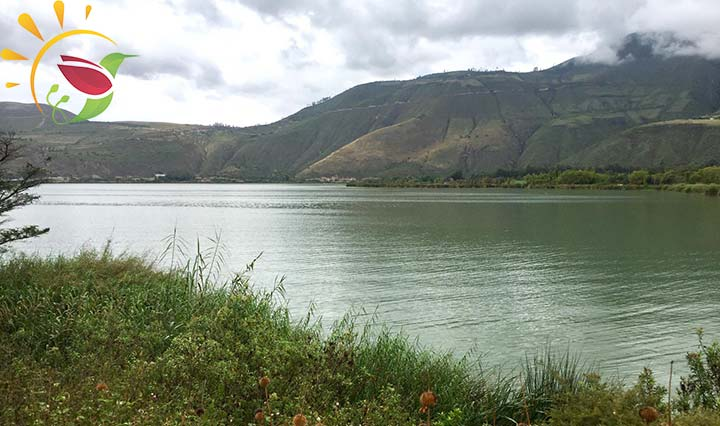 Lagune Yahuarcocha Ecuador