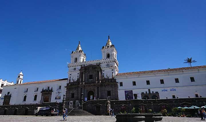 Plaza San Franzisco in Quito