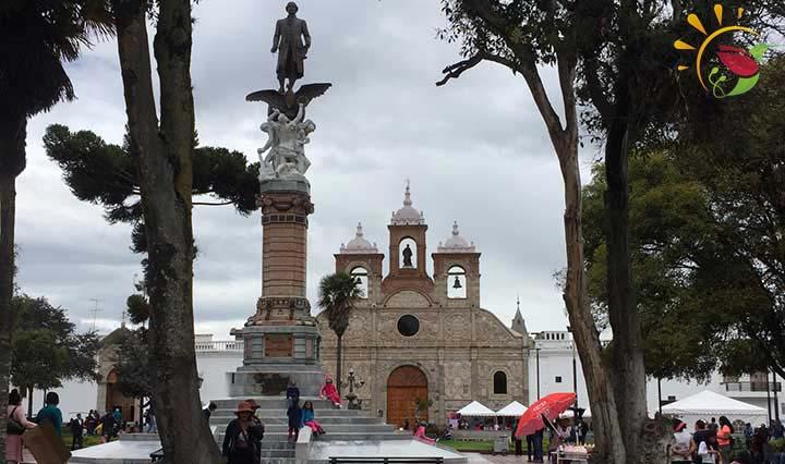 Innenstadt Riobamba Ecuador