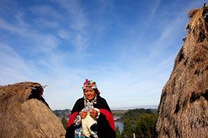 Mapuche Kultur in Araucania Chile
