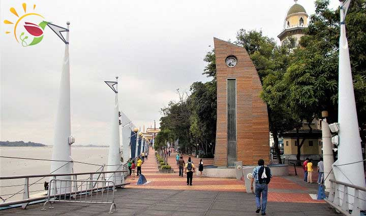 Malecon in Guayaquil