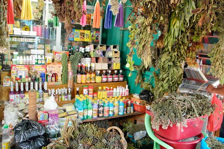 Marktstand Peru