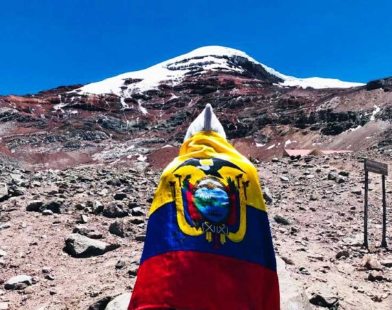 Ecuador Flagge Chimborazo