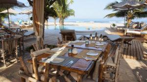 Frühstück und Mittagessen mit direkten Blick aufs Meer, Peru