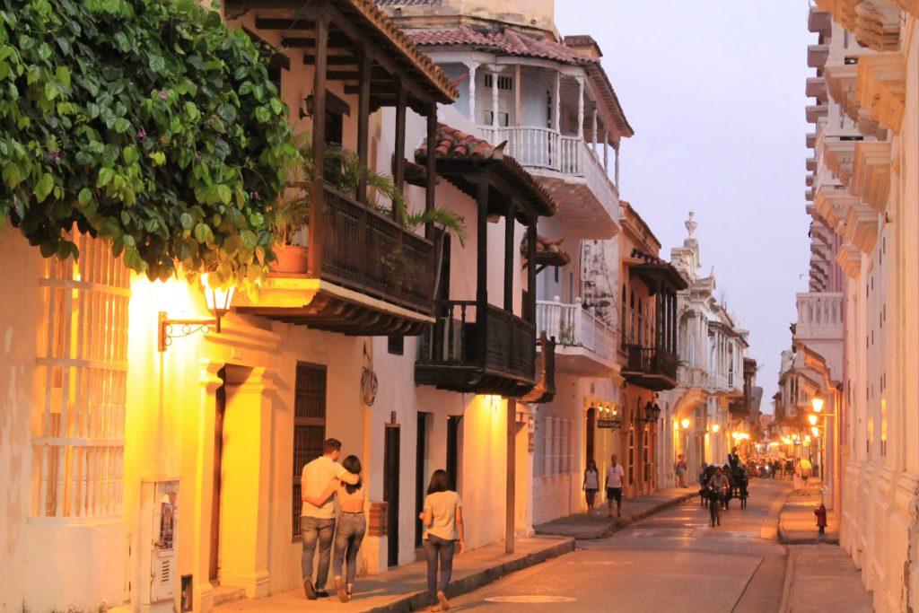 Altstadt von Cartagena, Kolumbien