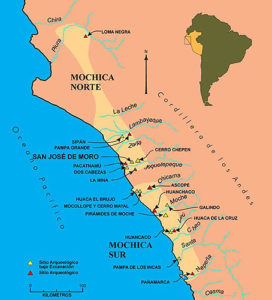 Mapa Moche