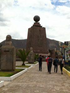 Mitad del Mundo - die Mitte der Welt, Ecuador