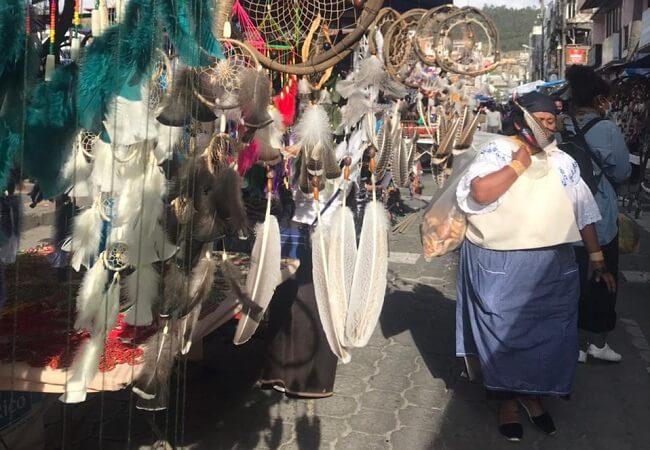 Traumfänger auf dem Markt von Otavalo