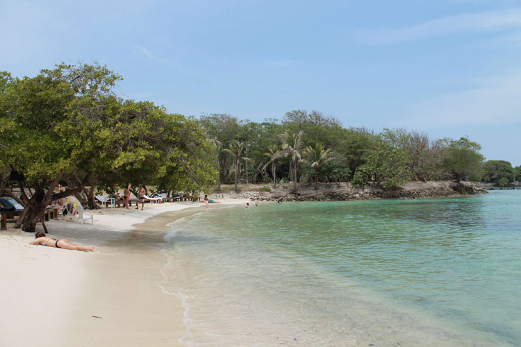 Islas del Rosario, Cartagena, Kolumbien