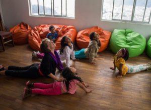 Yoga im Refugio de los Sueños