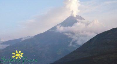 Tungurahua Ausbruch Ecuador