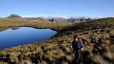 Wandern in Ecuador