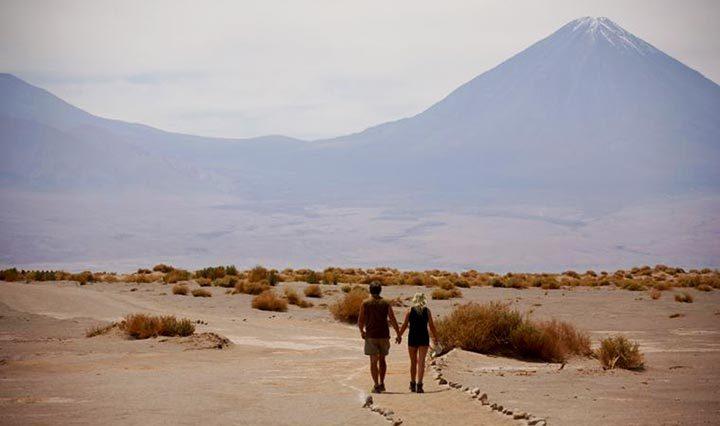 Chile Individualreisen Spaziergang durch Wüste