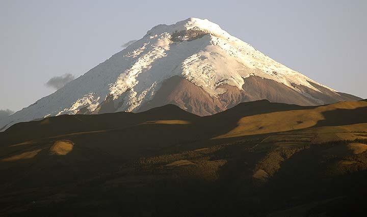 Bergsteigen auf dem Cotopaxi Ecuador
