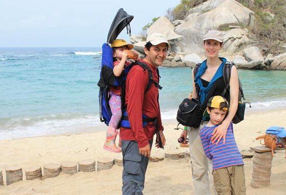 Tayrona auf einer Familienreise durch Kolumbien