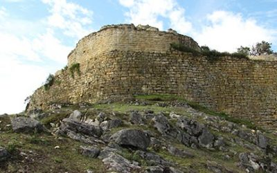 archäologische Stätte Kuelap Ruinen in Peru